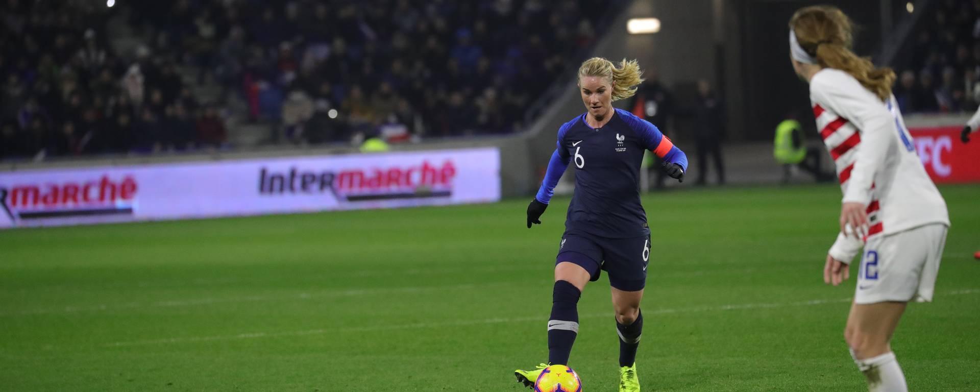 Amandine Henry match amical France Etats Unis Janvier 2019 Crédit photo archives FFF