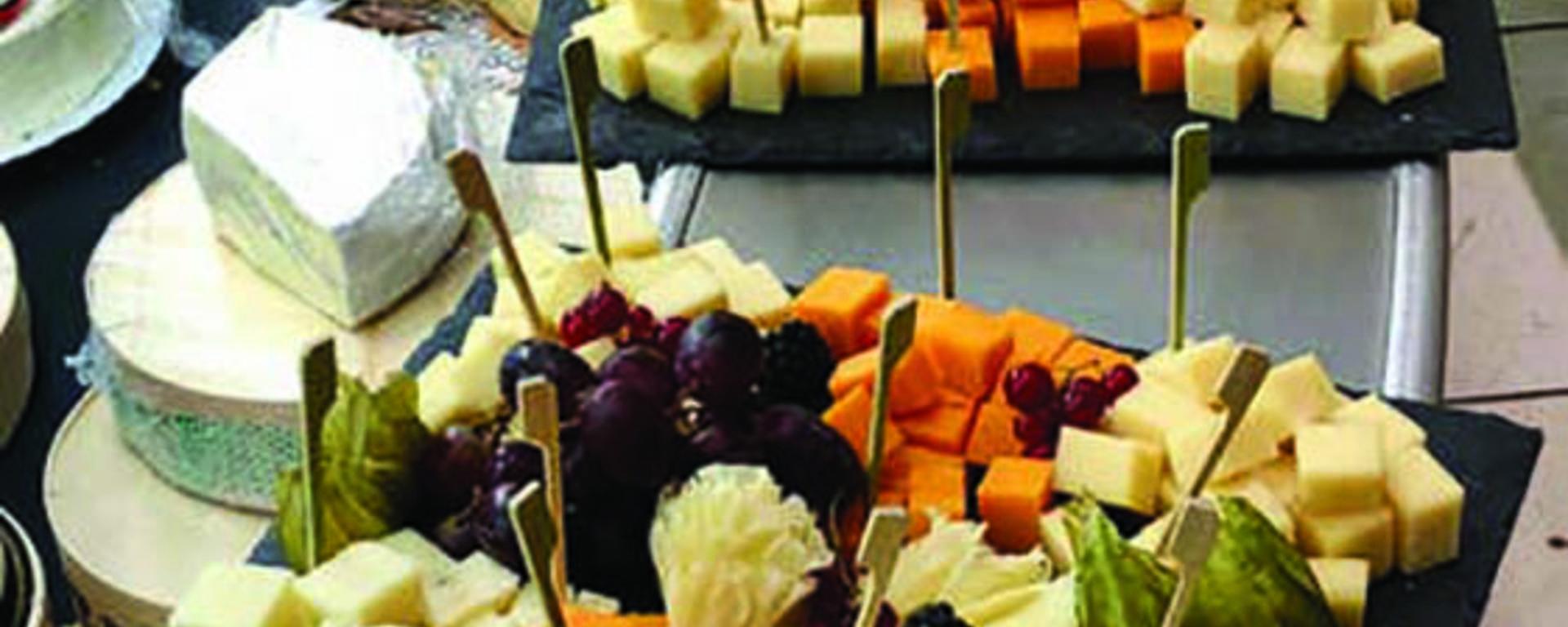Plateau de fromages, le Vert Pré, rue du Quesnoy à Valenciennes