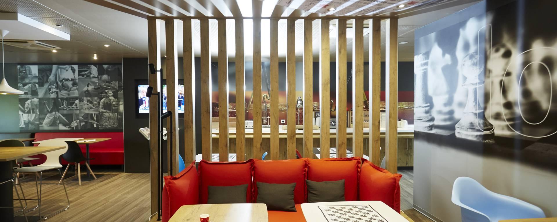 Valenciennes hôtel Ibis lounge