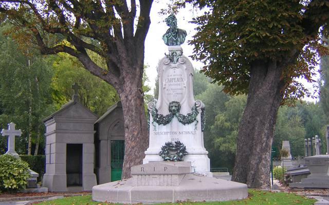 St Roch, le cimetière des Prix de Rome