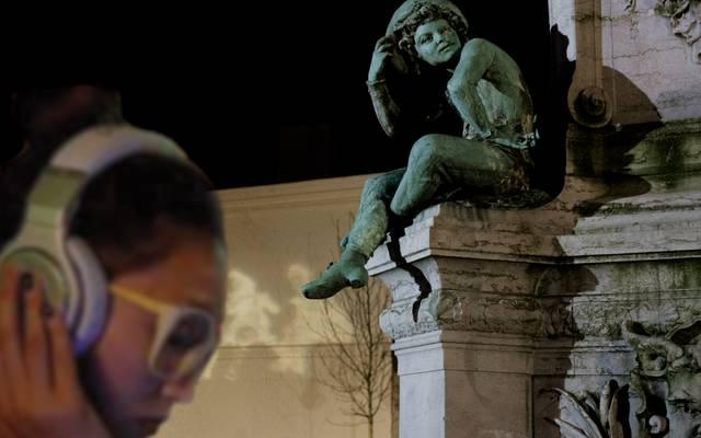 """parcours sonore """"Sculpteurs de lumière"""""""