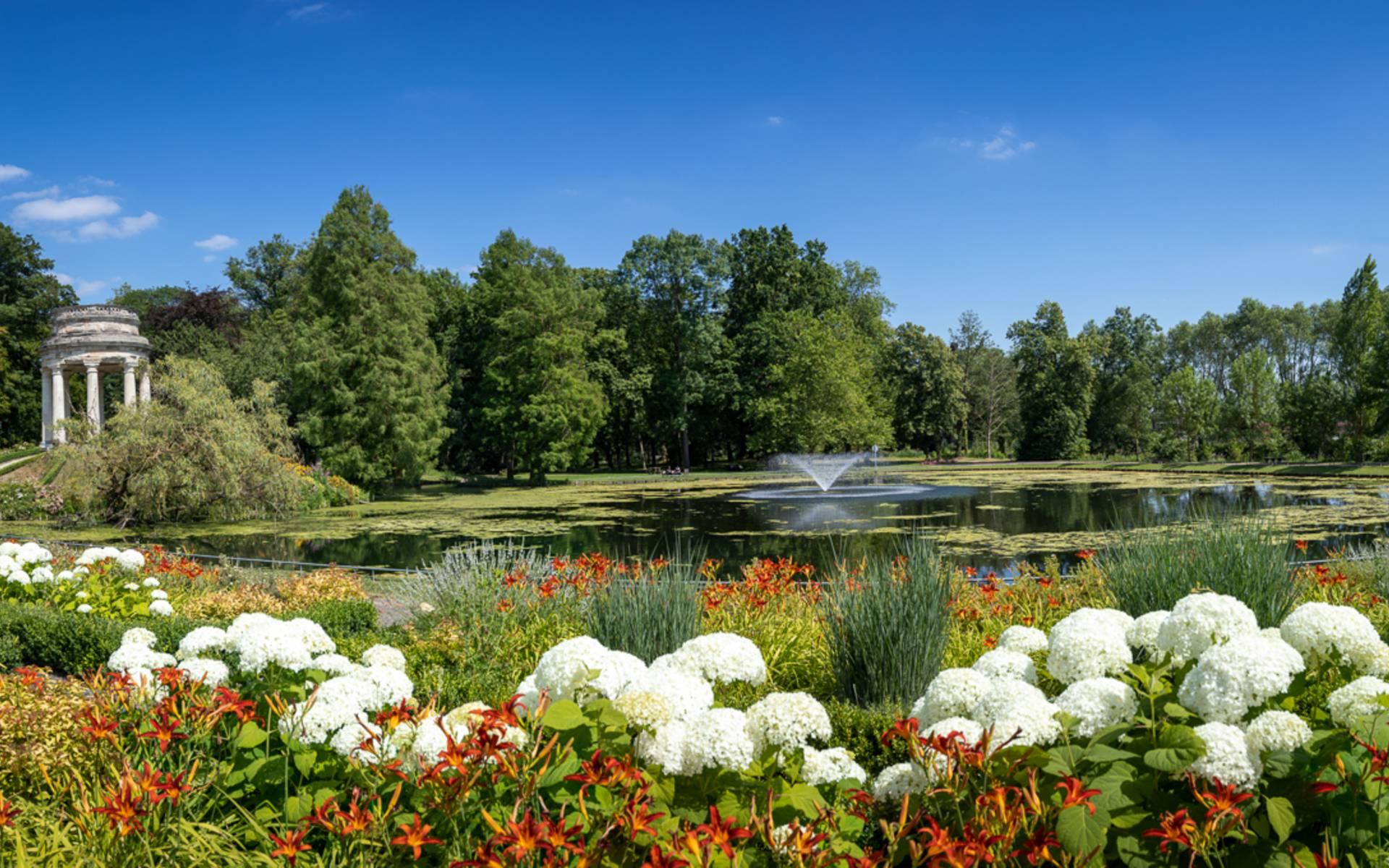 Parc Joliot Curie à Fresnes-sur-Escaut