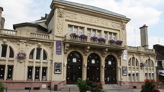 façade théâtre Anzin