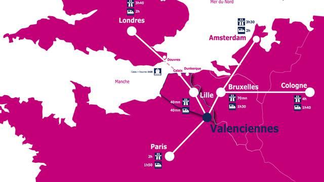 Valenciennes au coeur de l'Europe