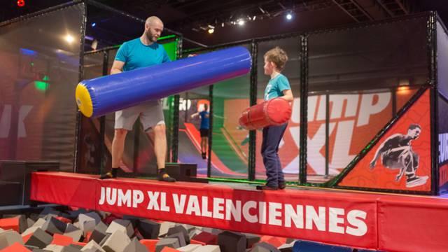 Jump XL trampolinpark Petite Forêt