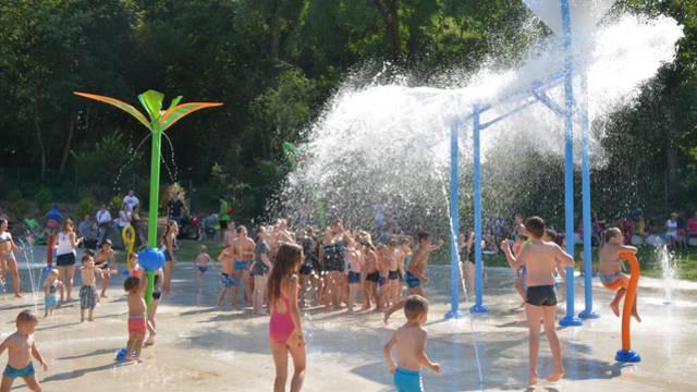 aire de jeux d'eau Condé-sur-l'Escaut