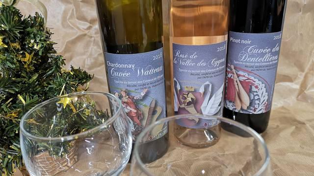 Les vins des coteaux de l'Escaut à Valenciennes