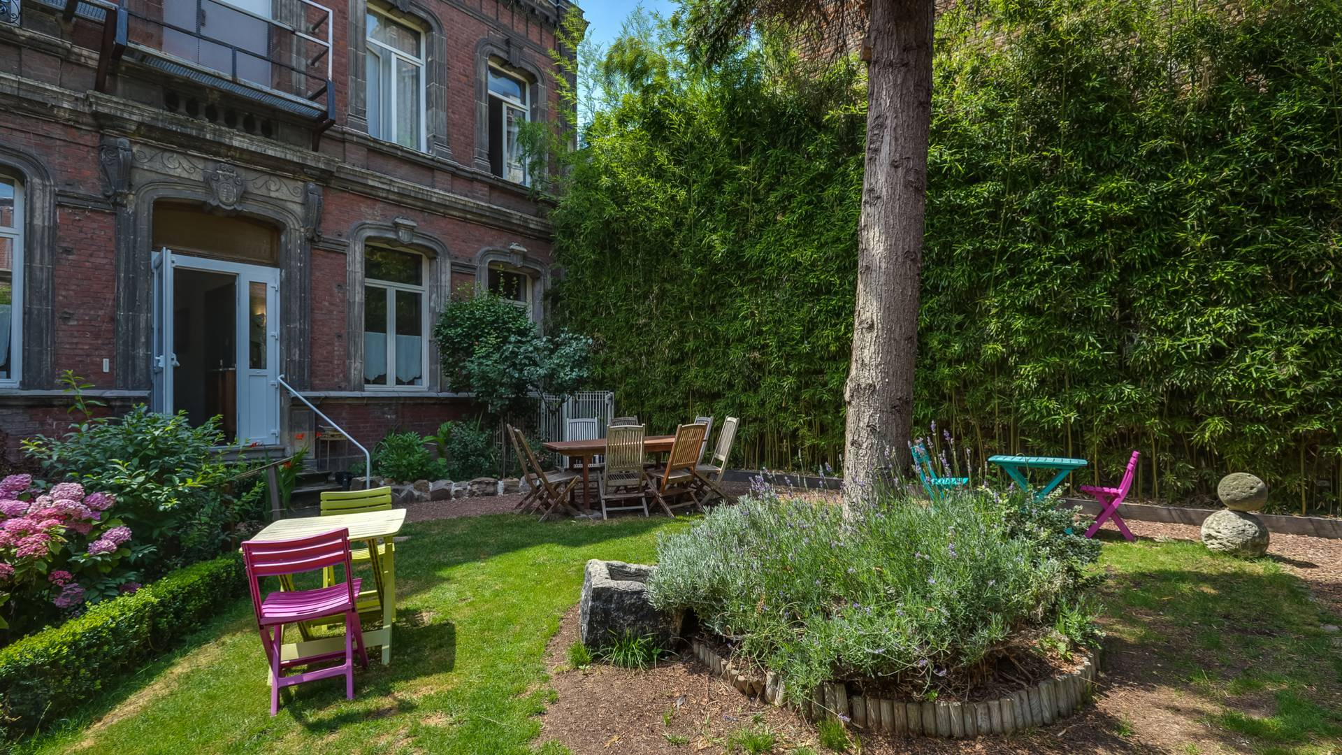Valenciennes Brit Hôtel Notre dame jardin
