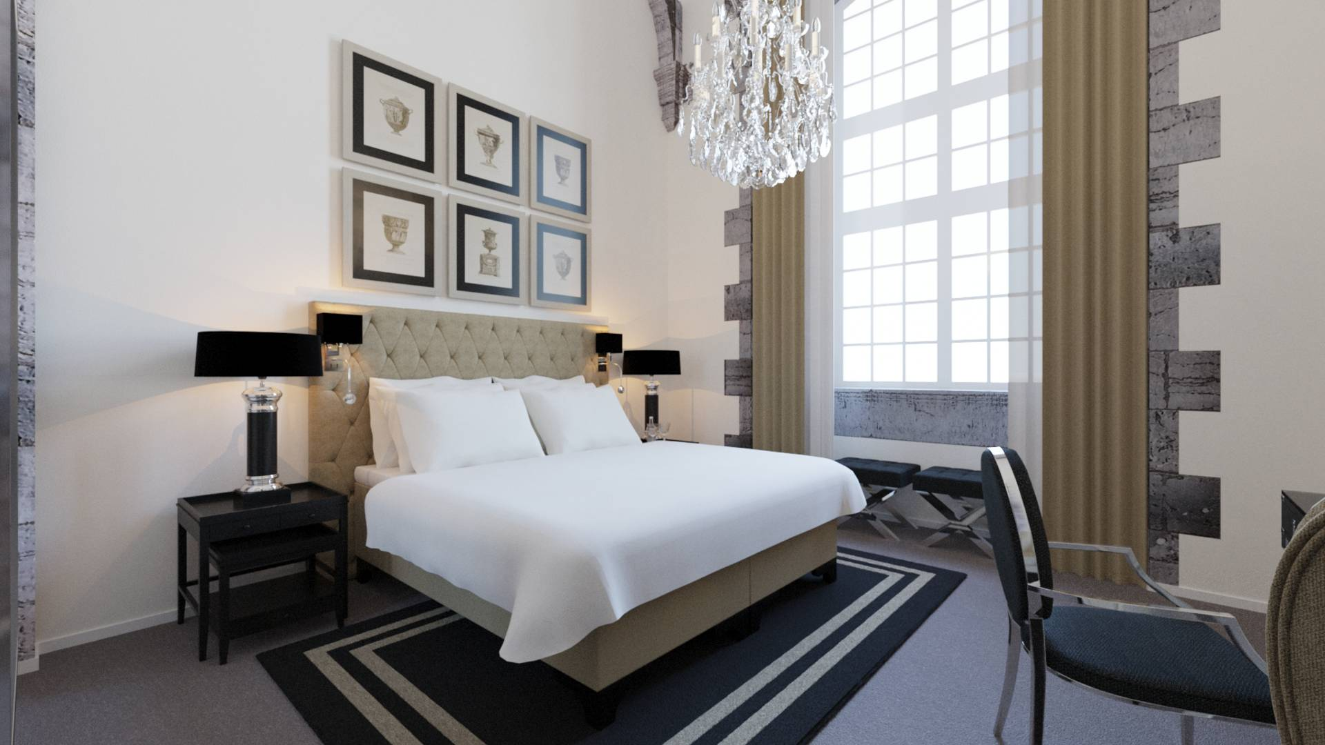 Valenciennes Royal Hainaut spa & resort, chambre