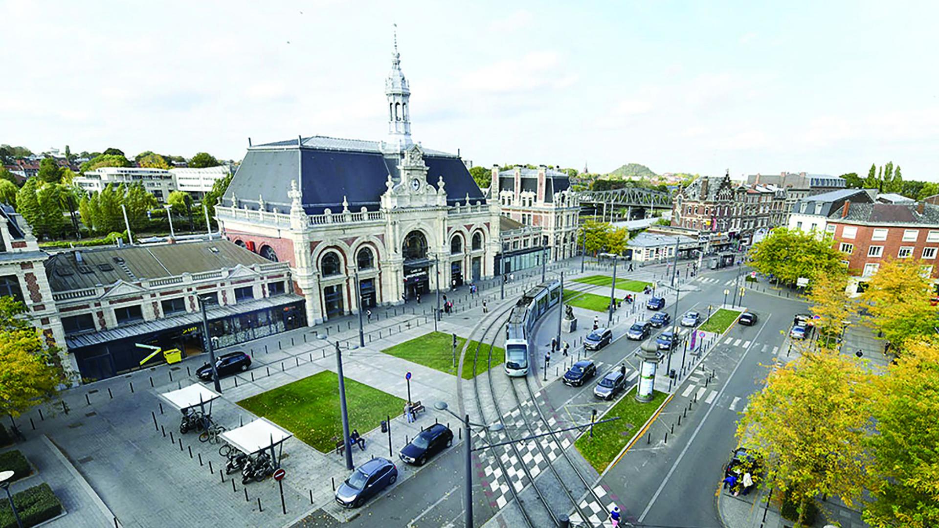 Valenciennes vue sur la gare, In Situ Hôtel
