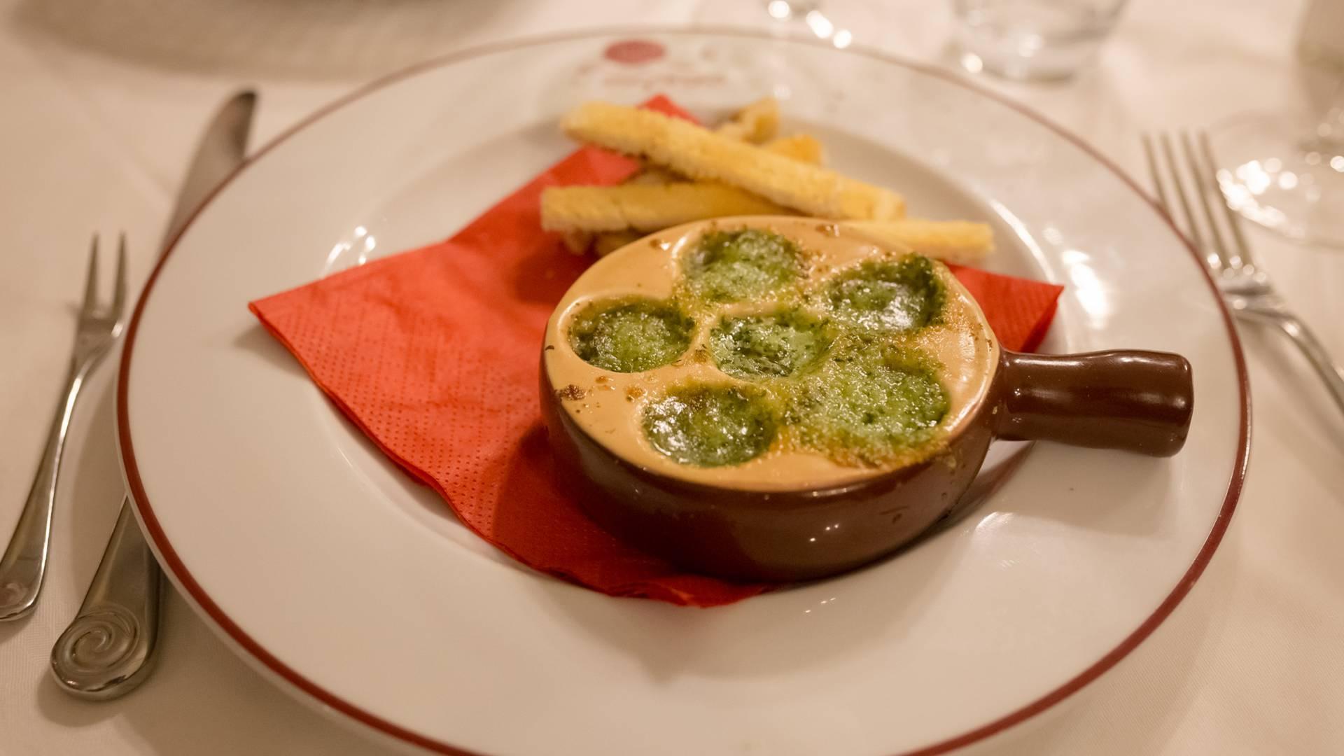 Valenciennes, restaurant l'Escargot