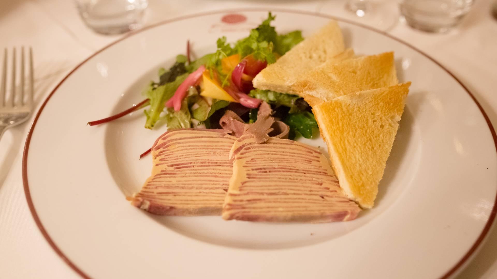 Valenciennes, restaurant l'Escargot, langue Lucullus