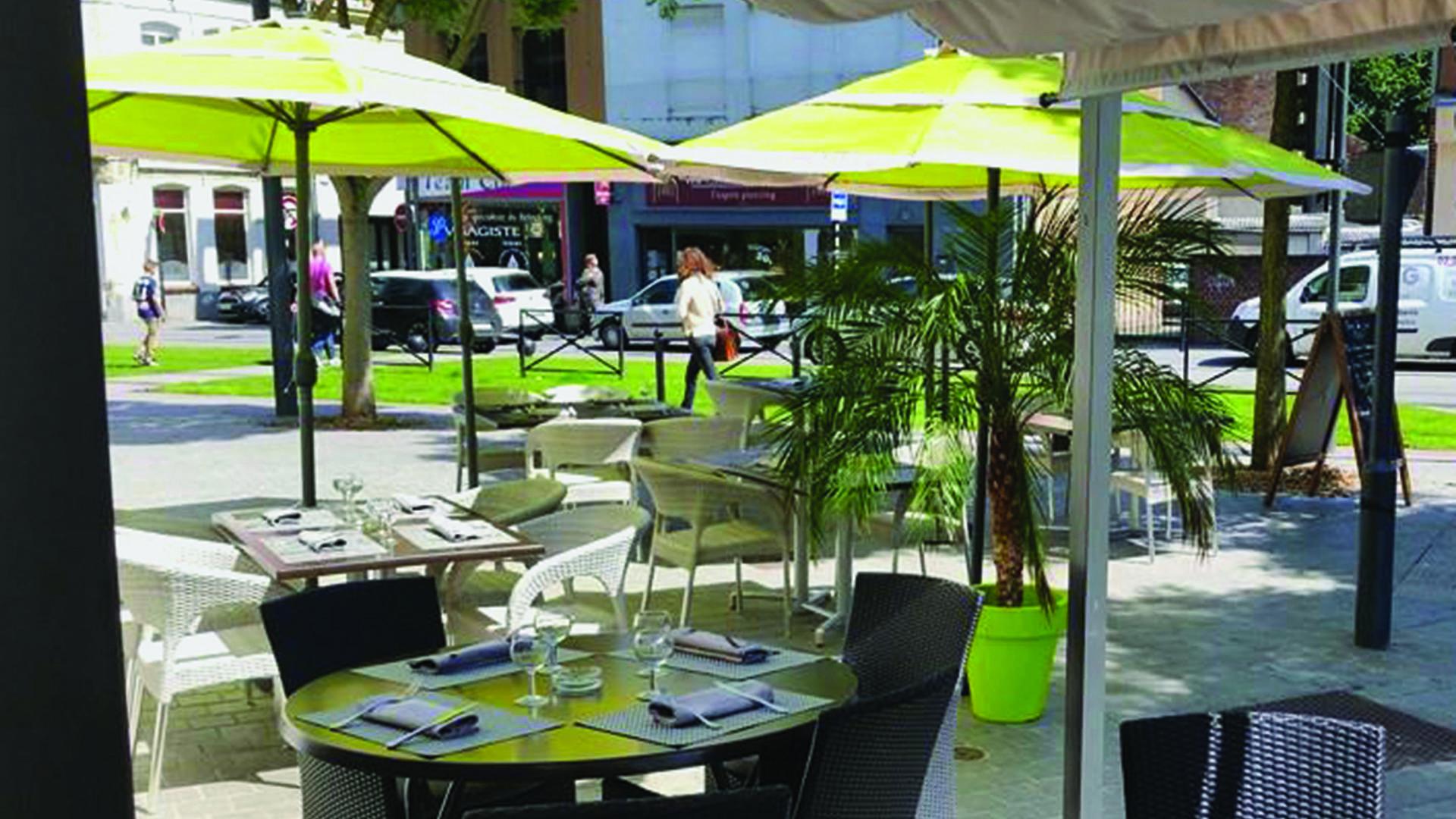 Valenciennes, les Arcades, la terrasse