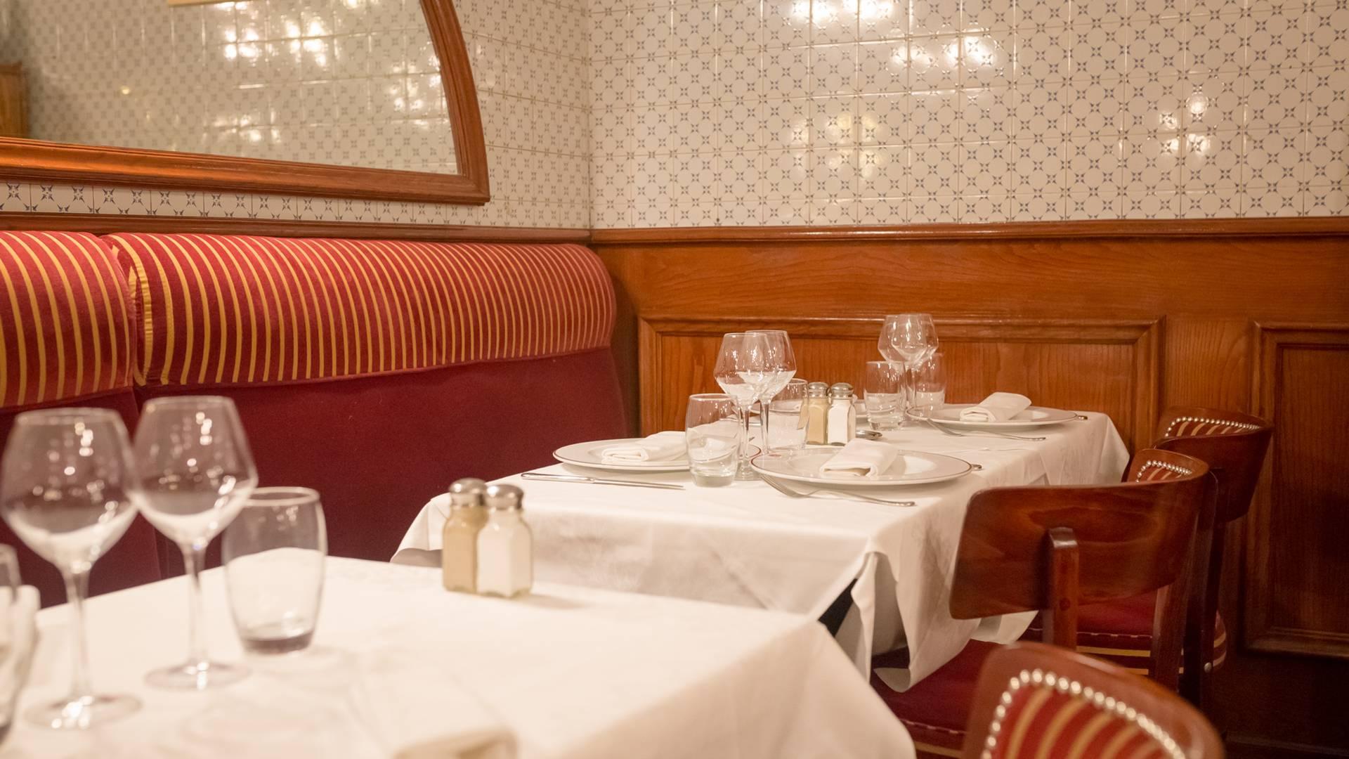 Valenciennes, restaurant l'Escargot, la salle