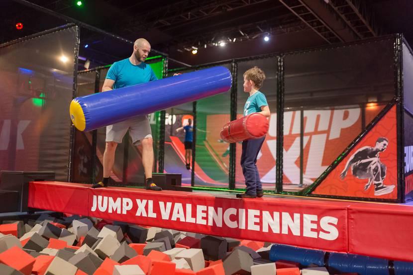 Jump XL trampoline park Petite Forêt