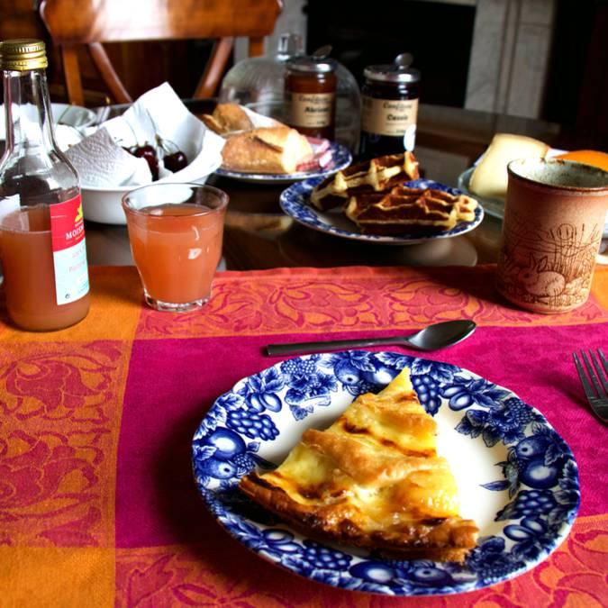Le Haut du pavé petit déjeuner